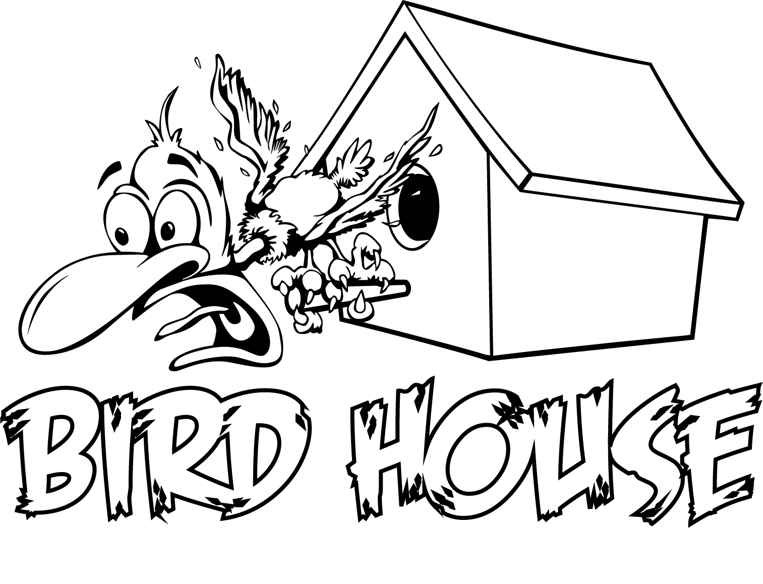 Bird House Print Shop